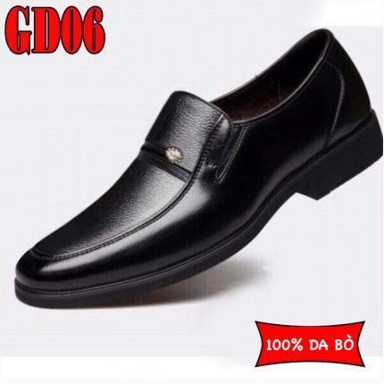 Giày công sở 100% da bò lịch lãm sang trọng, BH 1 năm GD06
