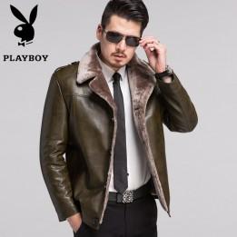 Áo khoác da lông cừu cao cấp quý ông AK086