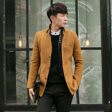 Áo khoác dạ Style Hàn Quốc AK0791
