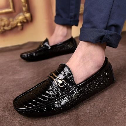 Giày lười da cá sấu GD103