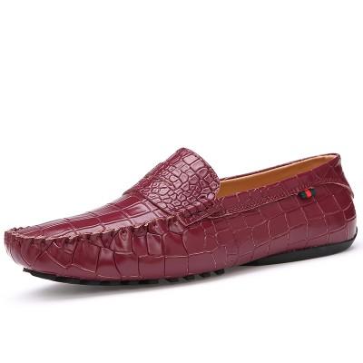 Giày lười vân cá sấu GD106