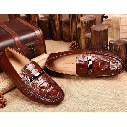 Giày lười vân cá sấu GD109