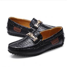 Giày lười vân cá sấu GD114