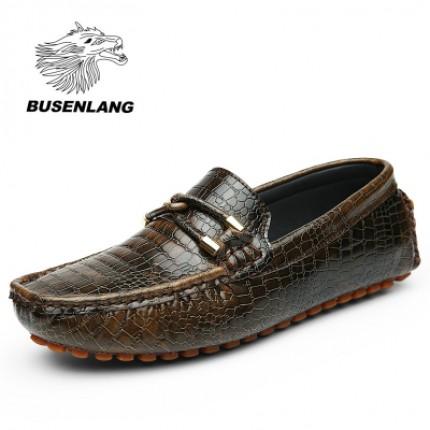Giày lười vân cá sấu GD124