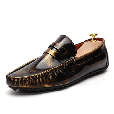 Giày lười da bóng cao cấp GD145