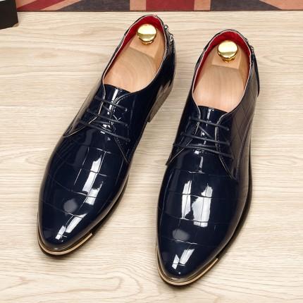 Giày da bóng phong cách Anh GD186