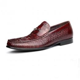 Giày lười vân cá sấu GD198