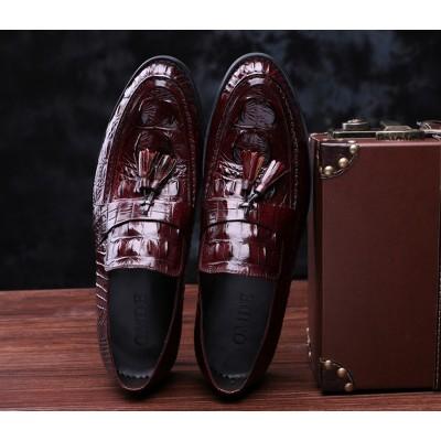Giày lười vân cá sấu GD200
