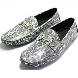 Giày da vân trăn cao cấp GD217