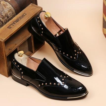 Giày công sở da bóng GD221