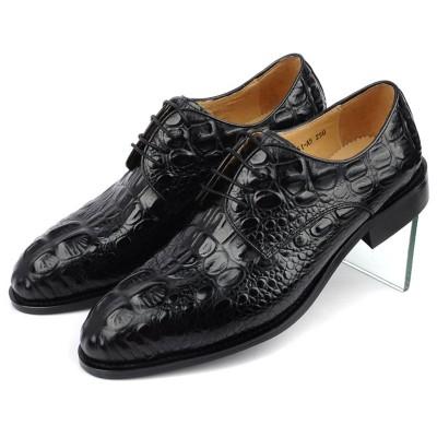 Giày quý ông kinh doanh vân cá sấu GD233
