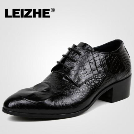 Giày quý ông kinh doanh vân cá sấu GD235