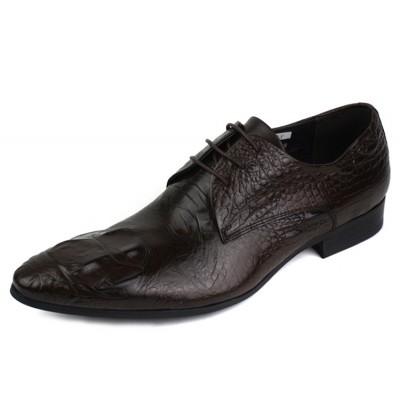 Giày kinh doanh quý ông vân cá sấu GD240