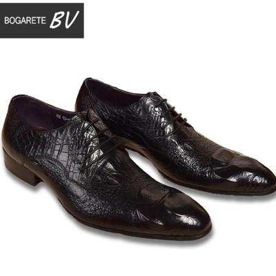 Giày kinh doanh quý ông vân cá sấu GD283