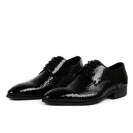 Giày kinh doanh quý ông vân cá sấu GD285