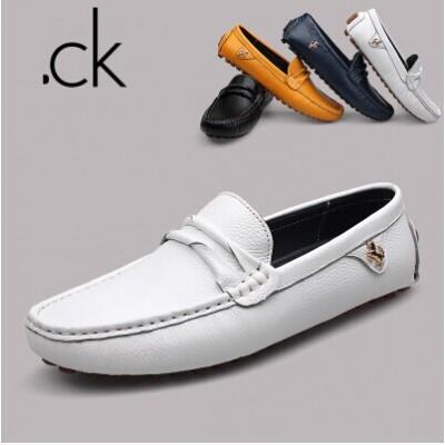 Giày lười Peas Hàn Quốc da bò phong cách 2015 GD287
