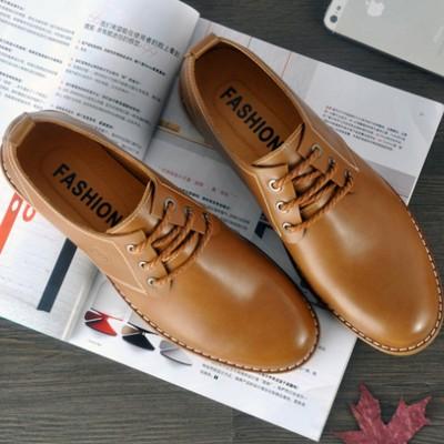 Giày da công sở dây buộc phong canh Anh GD297