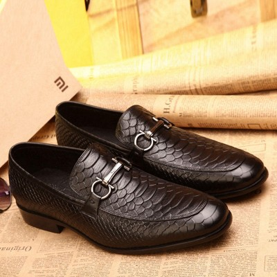 Giày da bò quý ông  phong canh Anh GD302