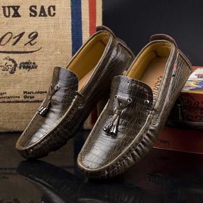 Giày lười phong cách da thật 100% GD312