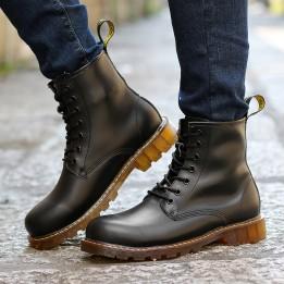 Giày dr martens da bò thật 100% đế đúc cao su bền chắc GD315