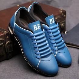 Giày dáng thể thao da thật phong cách Hàn Quốc GD317
