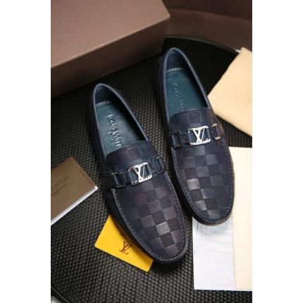 Giày lười da thật Louis Vuitton phong cách thời thượng GD327