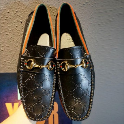 Giày lười da thật GUCCI cao cấp GD332