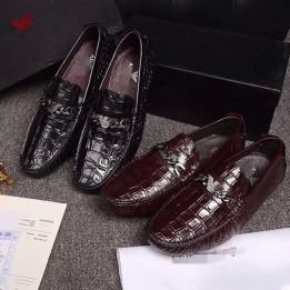 Giày lười da thật cao cấp phong cách quý ông GD334