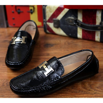 Giày lười da bóng GD346