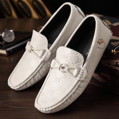 Giày lười da thật GC phong cách GD366
