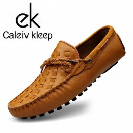 Giày lười da thật phong cách GD371