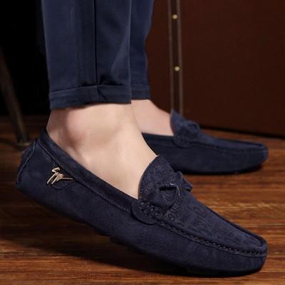 Giày lười da lộn phong cách cá tính GD386