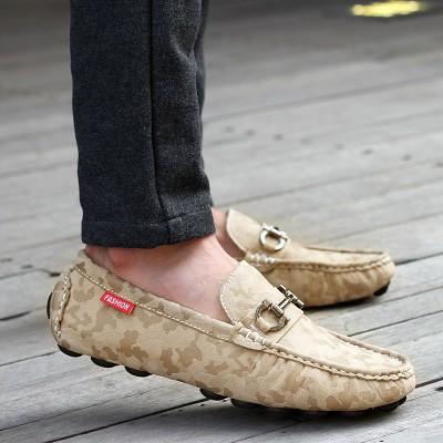 Giày lười 100% da thật phong cách mới GD388