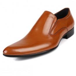 Giày công sở 100% da thật quý ông phong cách Anh GD394