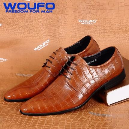 Giày công sở 100% da thật quý ông GD395