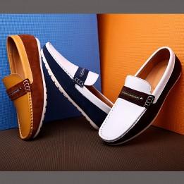 Giày Peas da bò phong cách Hàn Quốc mới GD409