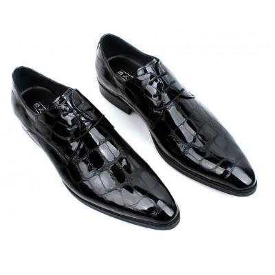 Giày da nam quý ông cao cấp hoa văn mới GD417