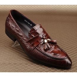 Giày da nam cách điệu GD419