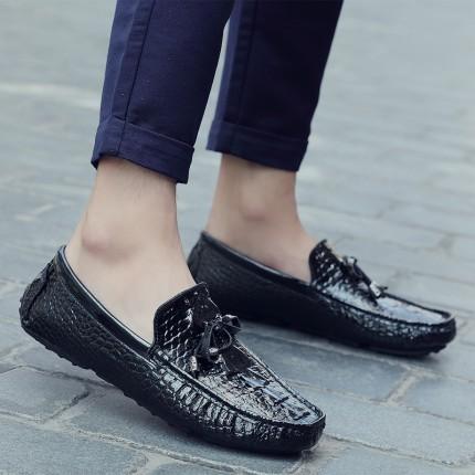 Giày lười Peas phong cách Anh GD425