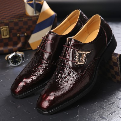 Giày cá sấu phong cách quý ông sành điều GD426