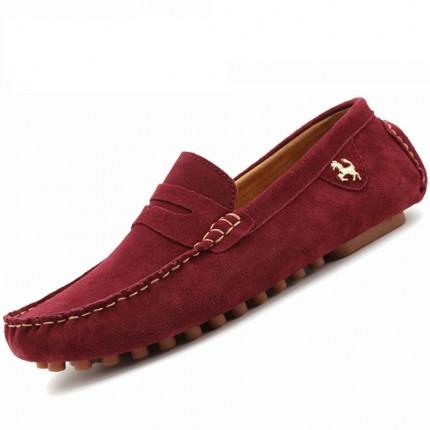 Giày lười thời trang da lộn GD475