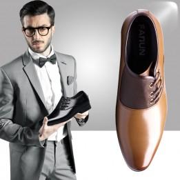 Giày tây nam buộc dây cao cấp