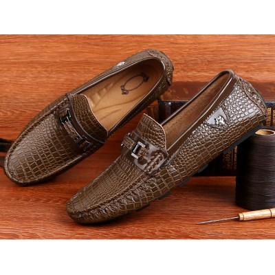 Giày lười vân sần sang trọng GD550