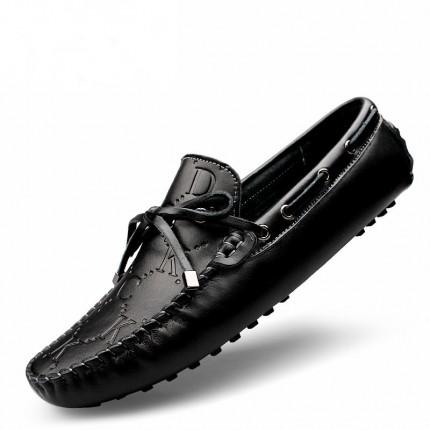 Giày lười da bò cách điệu phong cách GD569