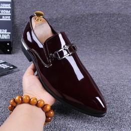 Giày da bóng cao cấp phong cách Anh GD571