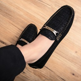 Giày lười da lộn cao cấp GD572