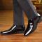 Giày da bóng cao cấp phong cách Anh GD573