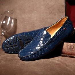 Giày lười da cá sấu GD96