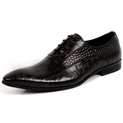 Giày da cao cấp vân cá sấu GD247