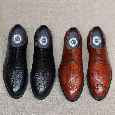Giày kinh doanh quý ông vân cá sấu GD251